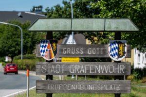 Stadteingang Grafenwoehr